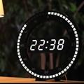 car accessories LED clock digital wall clock dash board clock Automatically Adjust Brightness Digital Led Display Desktop clock