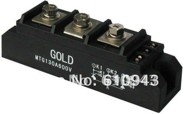 MTG130A 600V thyristor module (non-insulation type, special for welder) non isolated thyristor module mtg250a