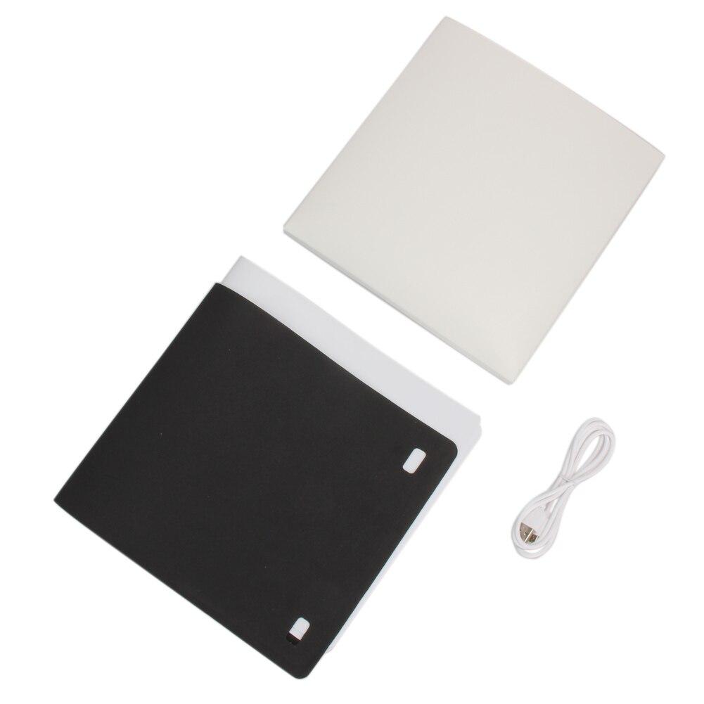 4 цвета фотографии фонов мини раскладной стол Stutio светодиодный свет софтбокс Портативный фон 23 см Кнопка обновить софтбокс