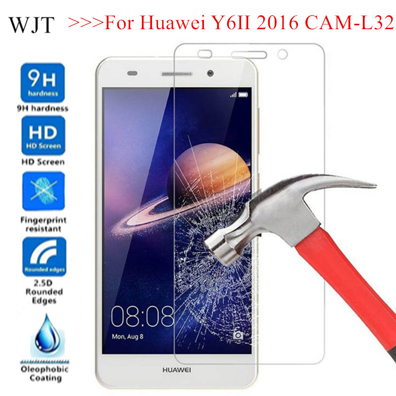 Y6II Cover Tempered Glass For Huawei Y6 II 2016 CAM-L32 L21 L03 L23 Protective Screen Protector For Huawei Honor Holly 3 Glass