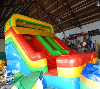 Hot Sale Commercial lands Inflatable Slide On Sale