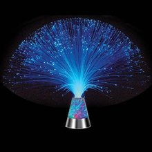Fiber Optic Christmas Tree LED Water Cube Glowing Ice Cubes Party Sparkling Night Light Wedding Bar Home Ice Decor(China)