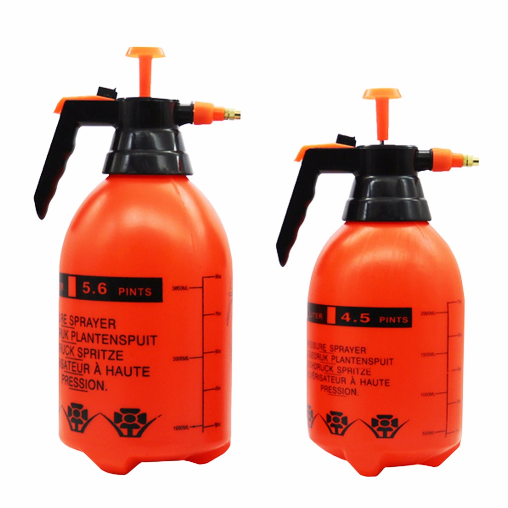 1 pc 2L and 3L Trigger Pressure sprayer Air Compression Pump Hand Pressure Sprayers Home Garden watering spray bottle easy use