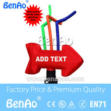 AD012 Hot selling Giant Arrow Inflatable  Air dancer /Inflatable single leg air dancer 3m 10ft  High  Free shipping cost