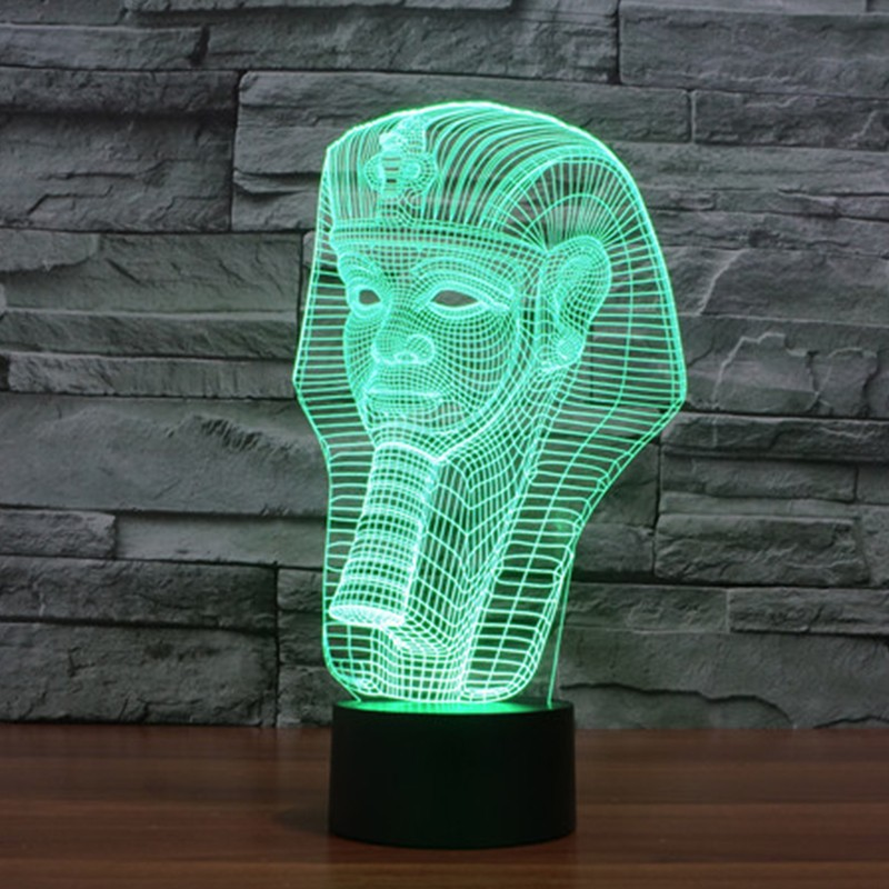 7-color-Holiday-Atmosphere-Decorative-Kids-gift-Pharaoh-Style-3D-Ilusion-LED-Night-Light (1)