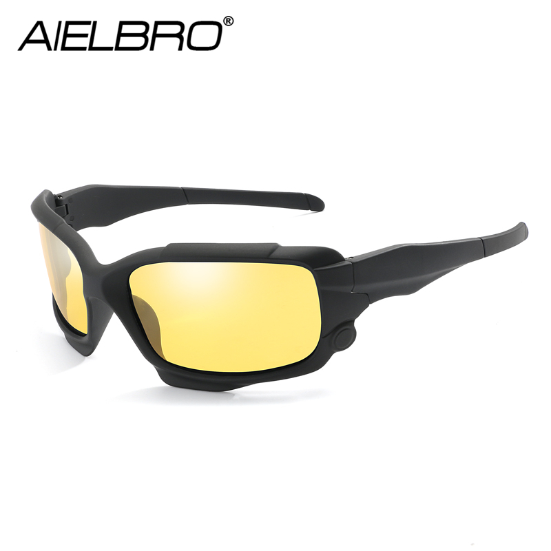 Купить с кэшбэком AIELBRO Fashion Polarized Sunglasses Men Luxury Brand Designer Vintage Driving Sun Glasses Male Mirror Goggles Shadow UV400