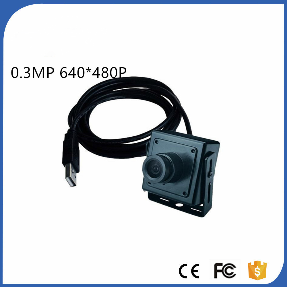 34*34MM Micro Szie MINI ATM USB Camera 0.3 Megapixels USB Pin hole Mini camera ATM Bank Camera Support Linux XP System цена