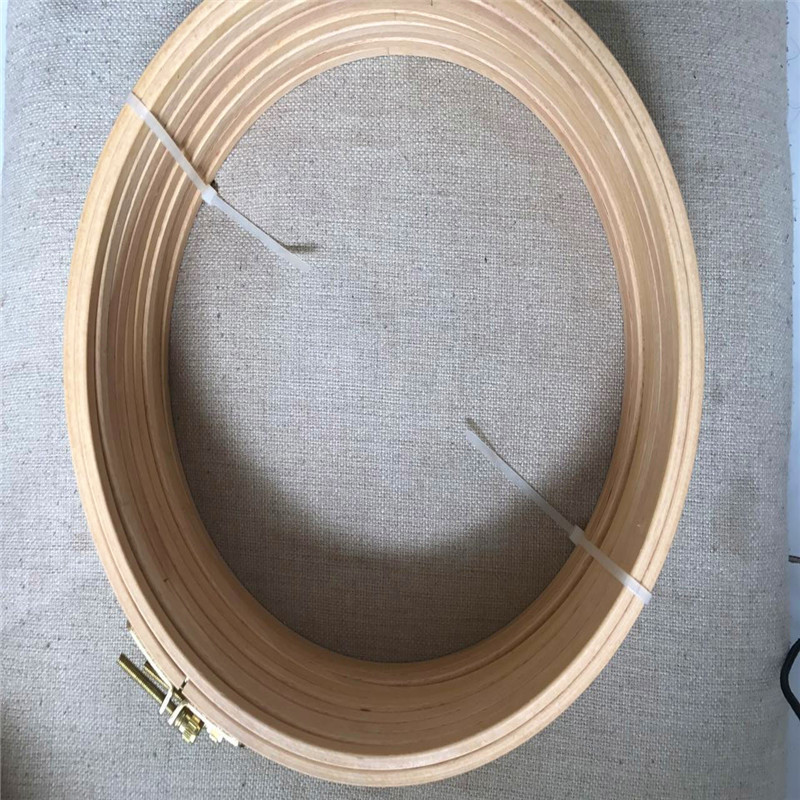 WRMHOM 10pcs lot 9 45 Inch Wood Cross Stitch Machine Embroidery Hoop 24cm Stitching Hoop Cross