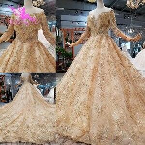 Image 2 - AIJINGYU נפלא יוקרה שמלת שמלות זול תלבושות בציר אוסף חתונה שמלות בחתונות