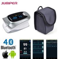 New Finger Pulse Oximeter Bluetooth Oximetro De Dedo Blood Oxygen Saturation Oximetro A Finger For Health