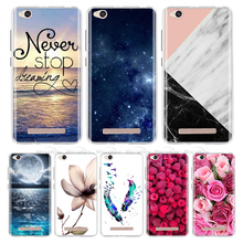 Xiaomi Redmi 6A Case Cover Soft Silicone Patterned Phone For 4A a4 5.0 Back Fundas 5A