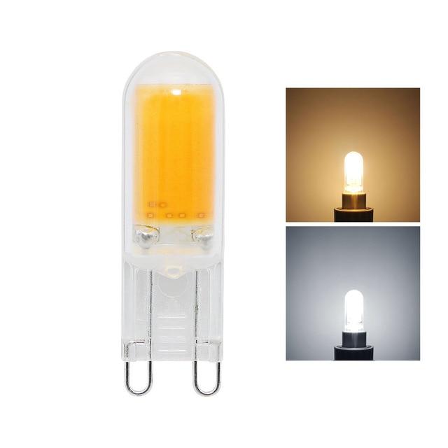 Anblub 1pcs g9 5w cob led light ac 220v lamp bombillas spotlight anblub 1pcs g9 5w cob led light ac 220v lamp bombillas spotlight chandelier replace 20w 30w mozeypictures Choice Image