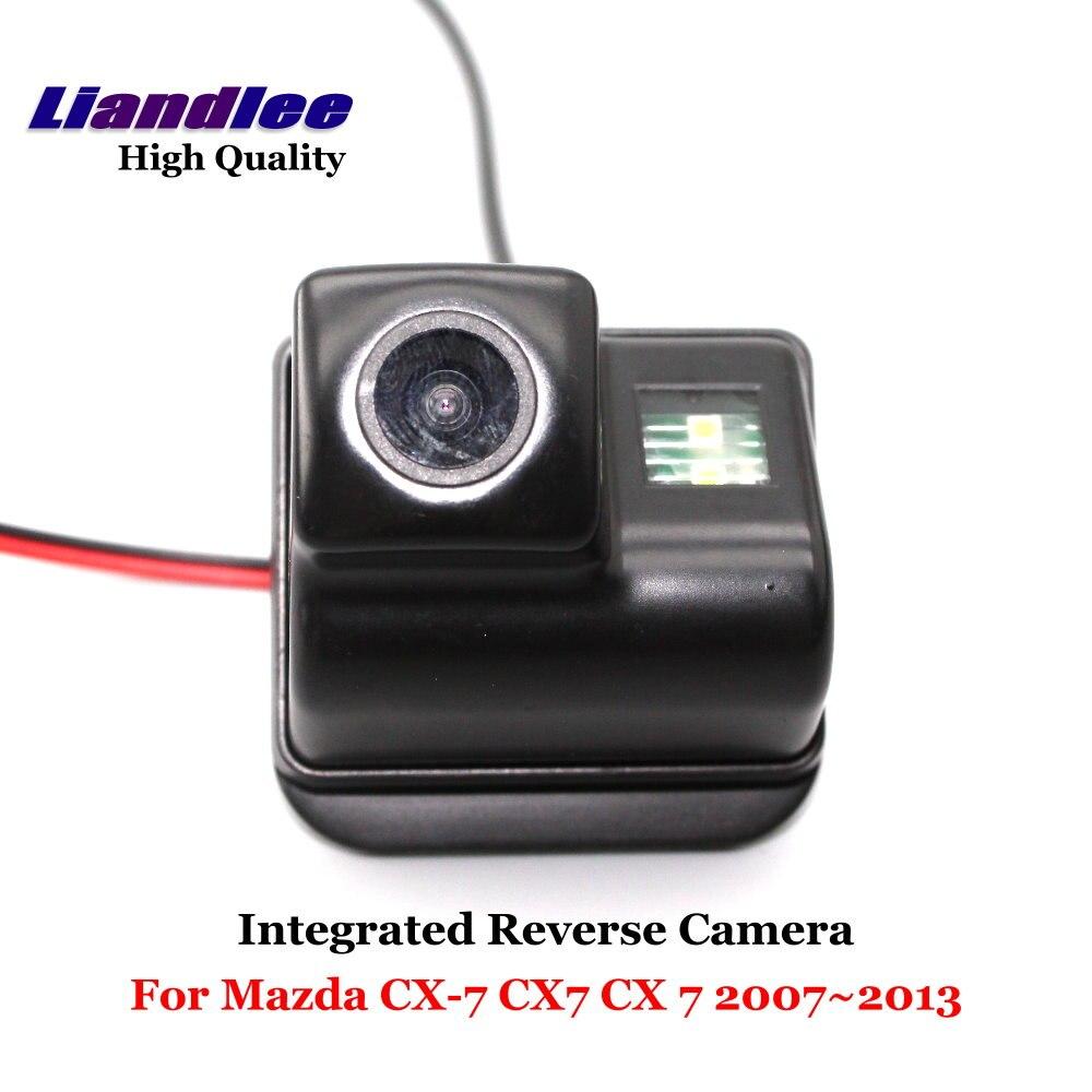 Liandlee Inverso Dell'automobile Per Mazda CX-7 CX7 2007 ~ 2013 Posteriore vista di Backup Telecamera di Parcheggio/SONY CCD HD Integrato Ad Alta qualità