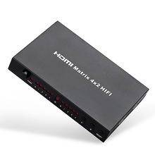4K Switch/Splitter Tomsenn (4-input,