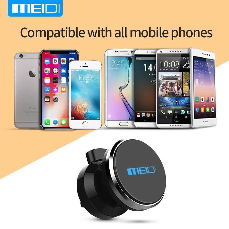 MEIDI soporte de teléfono para coche soporte de ventilación de aire para soporte móvil para iPhone Xiaomi soporte de Samsung soporte magnético para teléfono