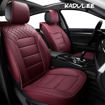 KADULEE pu leather Universal Car Seat cover for Audi all models a3 a8 a4 b7 b8 b9 q7 q5 a6 c7 a5 q3 car-styling auto accessories