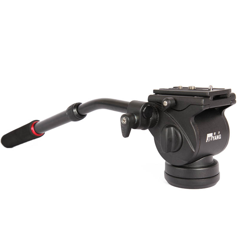 JY0506H Video Head Damping Fluid Head Hydraulic Panoramic Tripod Head for Slider Monopod DSLR Camera Shooting Video Film rubber seals for fluid and hydraulic systems