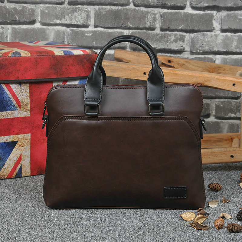 New Design PU Leather Briefcase for Men 4