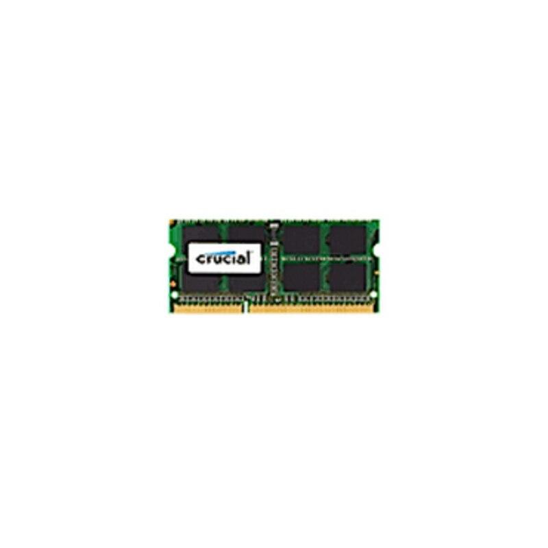 Crucial DDR3L 1866 MHz 1x4 GB SODIMM 204PIN 1.35 V pour MAC 1866 MT/S (PC3-14900) MEM Negro Verde