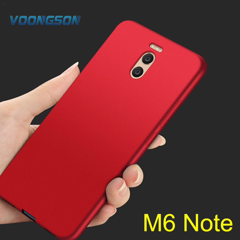 VOONGSON For Meizu M6 Note Case 5.5 Inch Cover PC Hard Back For Meizu M 6 Note Fundas Conque Fitted Cover For Meizu M6 Note Case