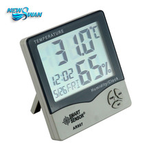 Promo offer AR807 Digital Thermometer Hygrometer Meter Indoor Outdoor Humidity Temperature Meter Weather Station LCD Clock