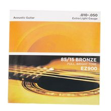 10pcs American Bronze Acoustic Guitar Strings цена в Москве и Питере