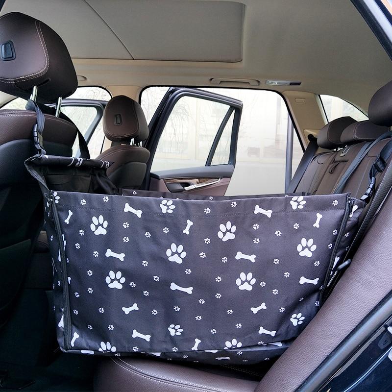 Pet Dog Car Carrier Seat Bag Travelling Folding Hammock Waterproof Basket Safety Mesh Hanging Bags Dog Seat Bag Basket Protector in Dog Carriers from Home Garden
