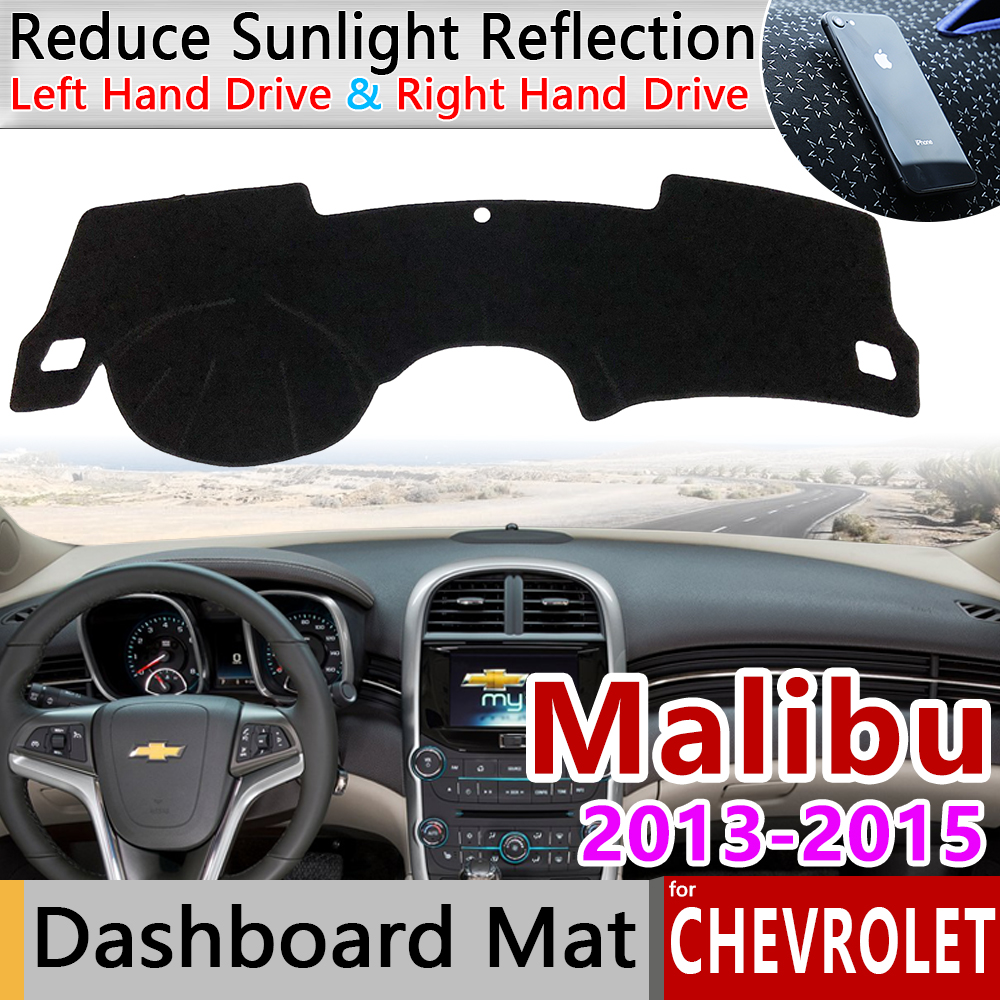 For Chevrolet Malibu 2013 2014 2015 8th Gen MK8 Holden Anti-Slip Mat Dashboard Cover Pad Sunshade Dashmat Carpet Car Accessories