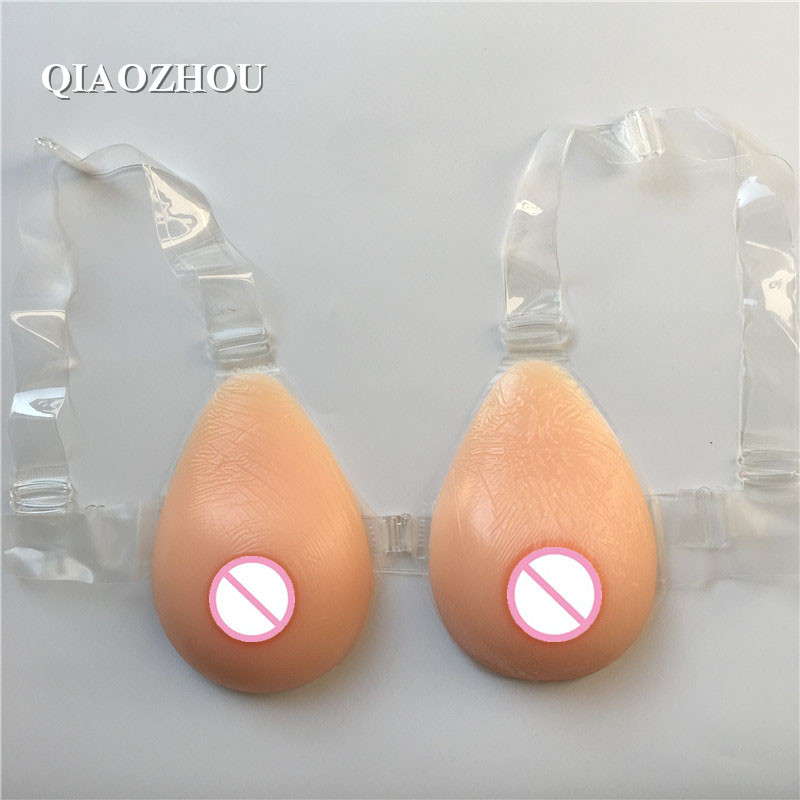 500g A cup teardrop fake breasts transgender strap on silicon boob real soft red tits 1 pair 500g a cup simulation real skin bionic silicone breast form cd siamese tg transsexuals fake boob tits transgender chest