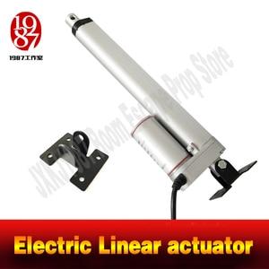 Image 3 - Electric Linear actuator 50mm Storke 100mm Stroke 200mm stroke linear motor controller DC 12V 200N JXKJ1987 room escape game