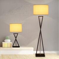 led e27 Nordic Iron Fabric LED Lamp LED Light LED Floor Lamp Floor Light For Foyer Study Dinning Room Bedroom