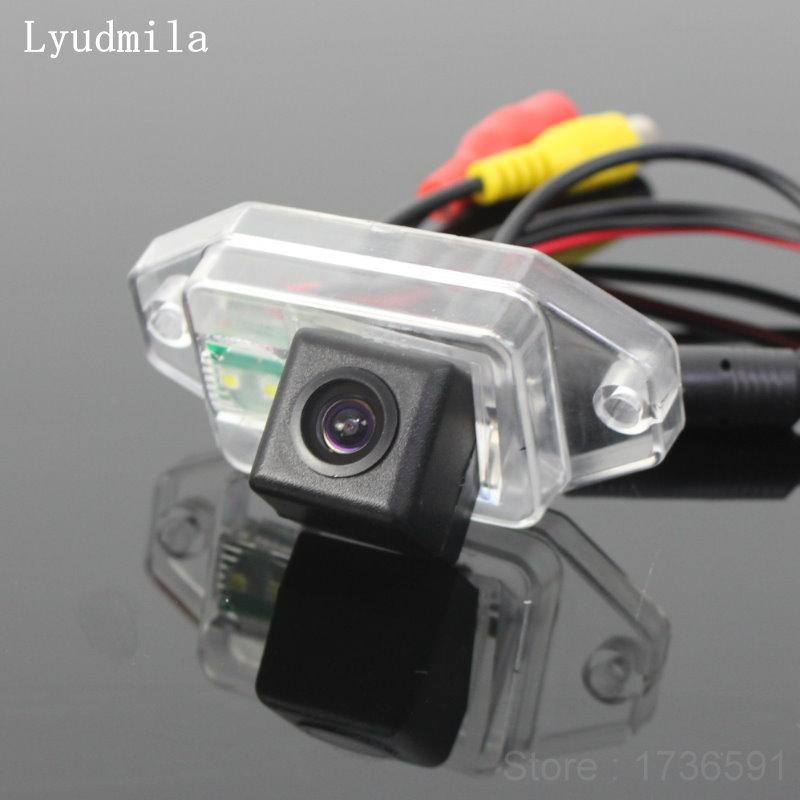 Lyudmila FOR Toyota FJ Cruiser 2007~2011 Car Parking Camera / Rear View Camera / HD CCD Night Vision + Reversing Back up Camera