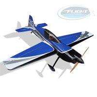 Flight Model SBACH 342 50CC Gasoline 3D Flying RC Airplane Germany Oracover Balsa Wood ARF Kit