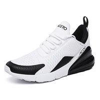 Breathable Sneakers Male Shoes Adult White Mesh Summer Walking Footwear Flat Running Mesh Shoes Black Sport Trainers