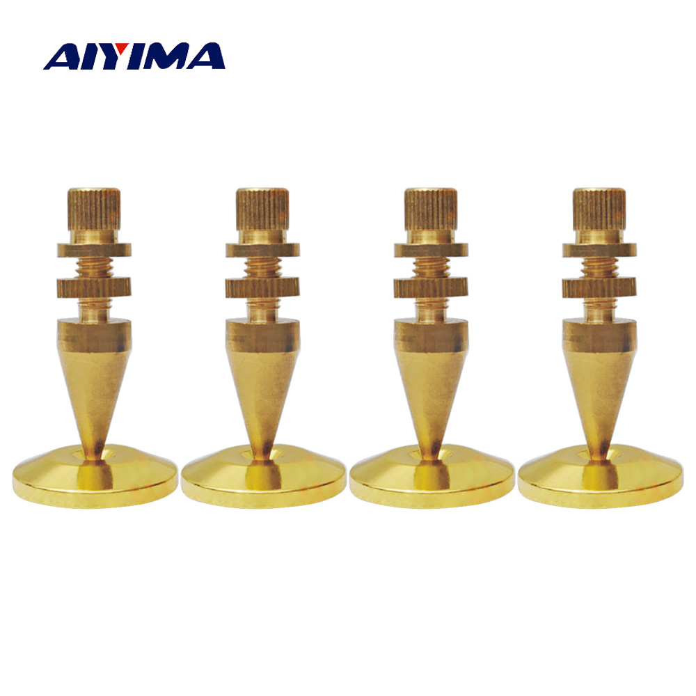 AIYIMA 4 Pair Mini Portable Audio Speaker Spikes M8x43 ...