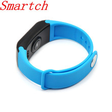 Smartch F1 умный Браслет Фитнес Tracker браслет Heart Rate Мониторы Smart Band Приборы для измерения артериального давления с Шагомер IP67 Водонепроницаемый