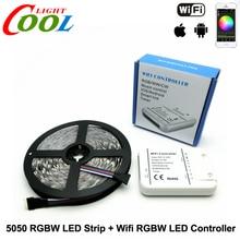 RGBW LED Strip 5050 5m + Wifi LED RGBW Controller DC12V 60LED/m RGBW / RGBWW Flexible LED Light Sets.