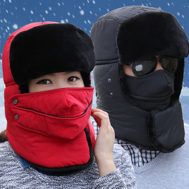 Snow cap for adult winter outdoor cycling windproof hat male and female thickening Mask Baby stroller Cap free shipping