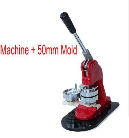 Badge maker che fa la macchina Pulsante NUOVO + 50 millimetri Stampo di un setBadge maker che fa la macchina Pulsante NUOVO + 50 millimetri Stampo di un set