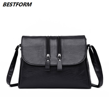 BESTFORM Designer Bags Famous Brand Women Bags 2019 Business Female Messenger Bag Fashion New Elegant Shoulder Bag Women Bolsa
