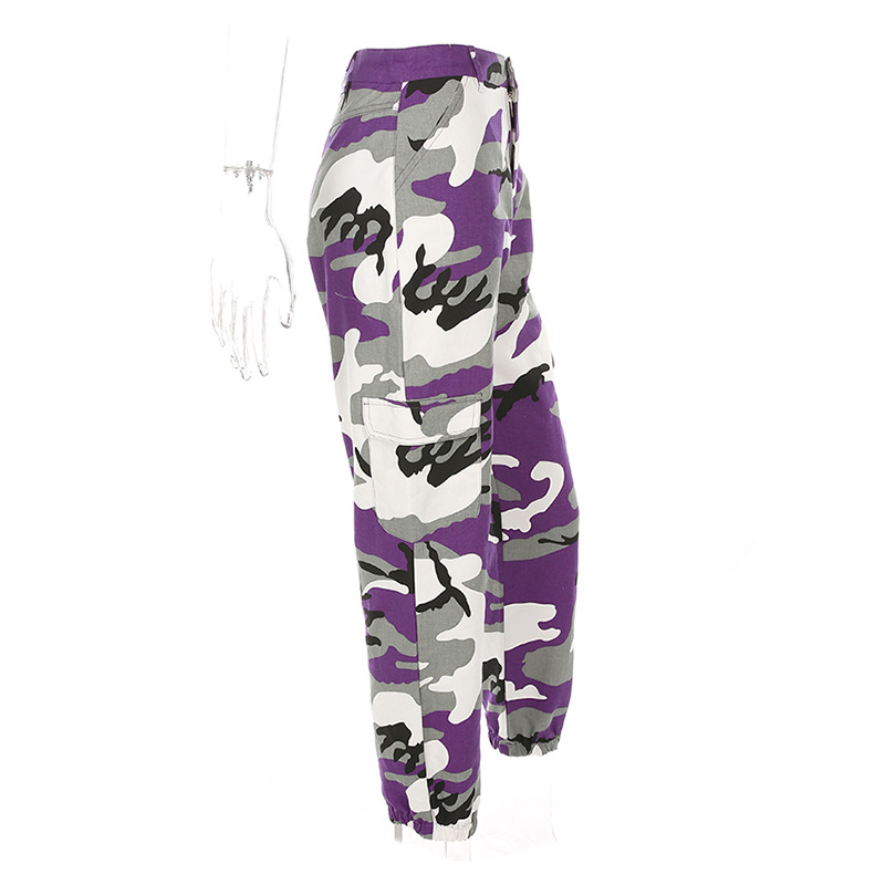HTB1l4KoXWagSKJjy0Faq6z0dpXao - Women Purple/Pink/Red/Camo Pants Fashion Street Jean Trousers PTC 251