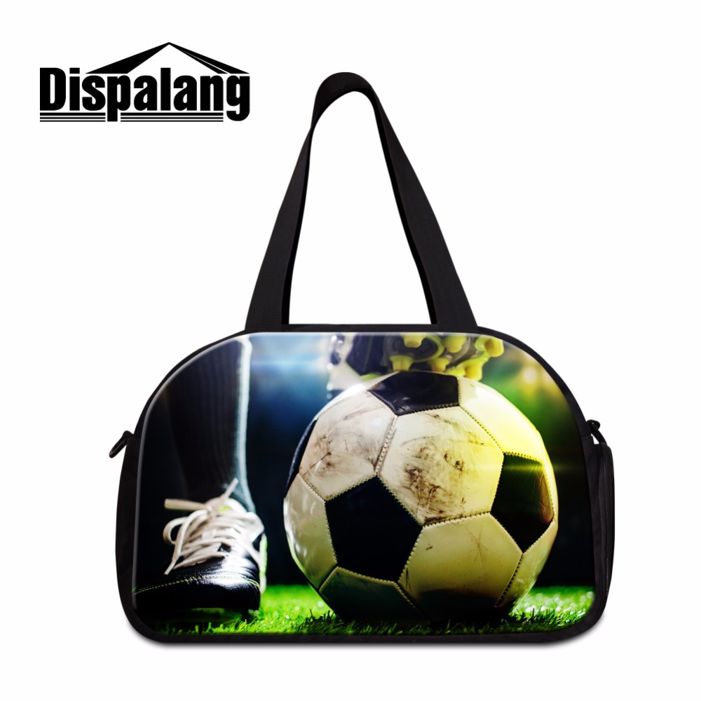 Dispalang Latest Sporty Bags for Men Lightweight travel Handbags for Teenager Boy Ball Canvas Tote Bag Duffle Bags for Men