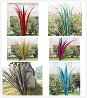 10 100pcs 24 28 inche/60 70cm Lady Amherst Pheasant Tail Feathers pheasant feathers for carnival party costumes decoration DIY