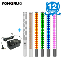 YONGNUO YN360 YN360 II Handheld ICE Stick LED Video Light built in 18650 lithium battery 3200k 5500k RGB controlled by Phone App