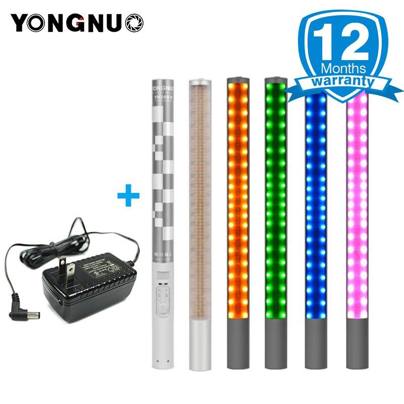 YONGNUO YN360 YN360 II De Poche Bâton de GLACE LED Vidéo Lumière intégré 18650 batterie au lithium 3200 k-5500 k RGB contrôlée par Téléphone App