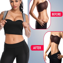 Women Shapewear Waist Trainer Neoprene Hot Body Shaper Sauna Sweat Waist Cincher Slimming Belt Vest Weight Loss Tummy Shaper Top