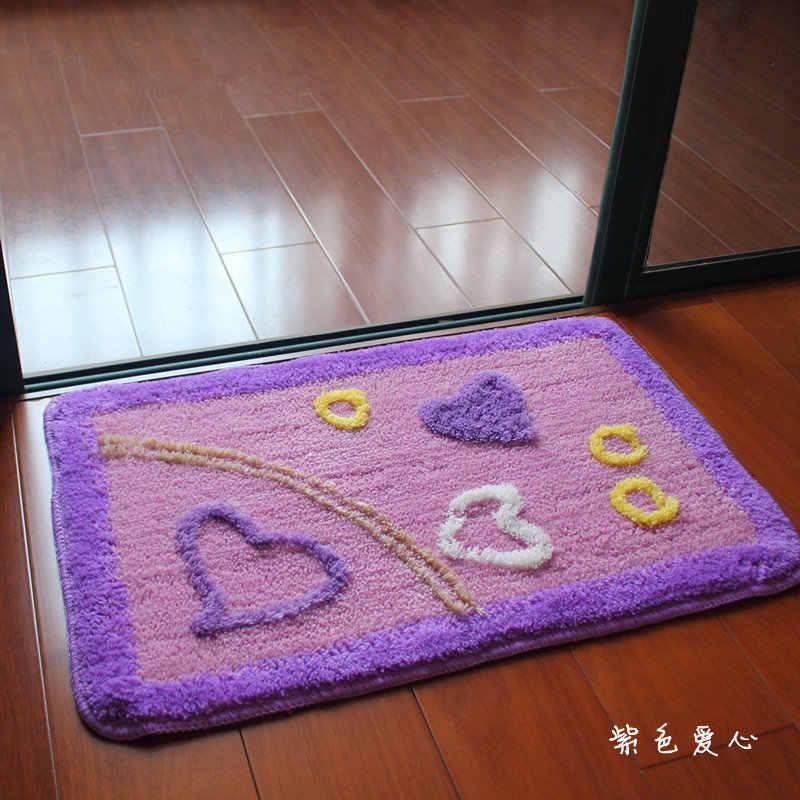 3D duży stóp piętro maty do kąpieli wc dywany, antypoślizgowe dywany łazienkowe dywany, sypialnia wc maty dywany, alfombra tapete