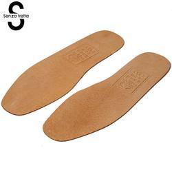 Senza Fretta 1 Paar Atmungsaktive Leder Einlegesohlen Frauen Männer Ultra Dünne Deodorant Schuhe Einlegesohle Pads Einsätze Absorbieren Schweiß Innere Sohlen