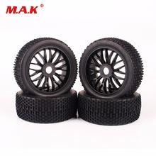 4 шт шины ruber колесные диски для hpi hsp traxxas 1:8 радиоуправляемые