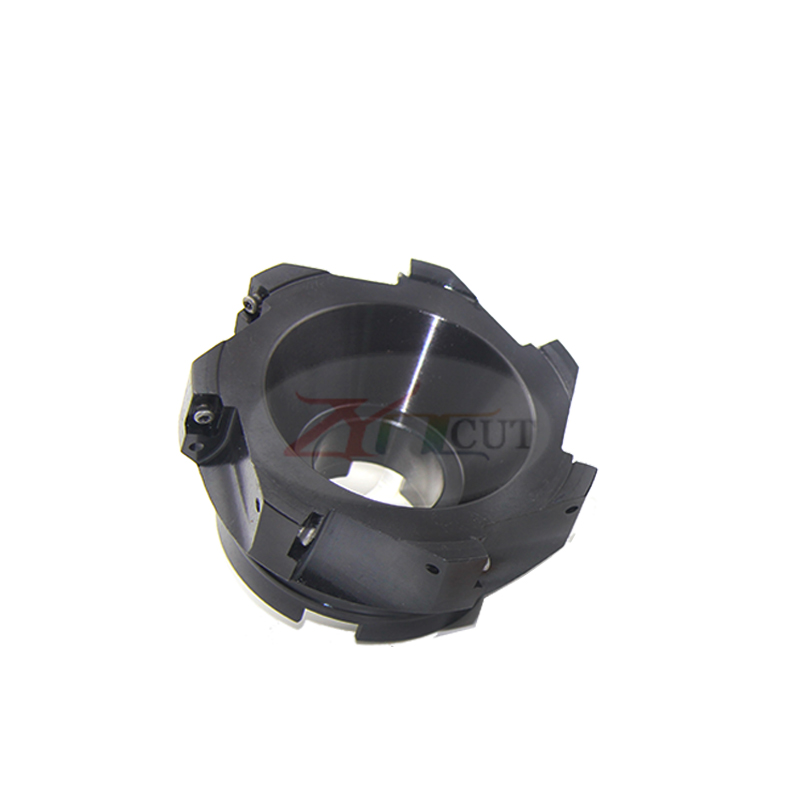 BAP400R 50 63 80 125 160 200mm 90 degree Plane milling cutter plate for APMT1604 CNC rough finish cutter head for machine tools in Milling Cutter from Tools